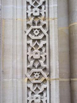 détail de la porte de la synagogue0