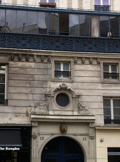 Paris, 04, 13 Rue Saint-Antoine, fer forgé_PETITE