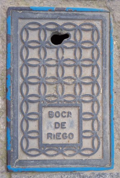 E00118_Espagne_Andalousie_Cordoue_métal_plaque_4F_PETITE
