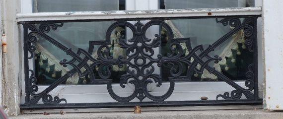 Rambarde De Fenêtre à Jouarre Lentrelacs
